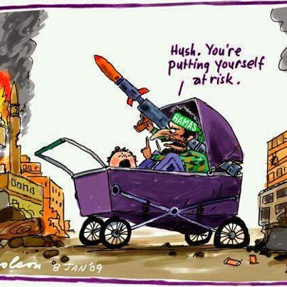 Hamas baby cartoon