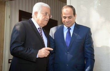 "After Sisi's speech, Abbas said ""We stand by Egypt's leadership, government and people, and we support all measures to be taken by the Egyptian leadership in order to maintain security and stability in Egypt in the face of terrorism in the Sinai and all the Egyptian territories, because of the service of the Palestinian cause and the Arab national security.""  Abbas praised the Egyptian position as being ""courageous in the face of terrorism,"" saying he has great confidence that Egypt will overcome the enemy.  How's that for hypocrisy?"