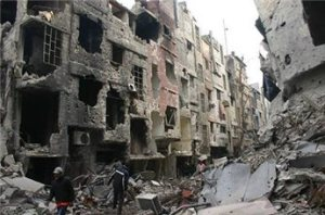 Yarmouk camp in Damaskus. Published Thursday 30/01/2014